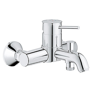 grohe start classic waschtischarmatur s size chrom gl nzend bauhaus sterreich. Black Bedroom Furniture Sets. Home Design Ideas