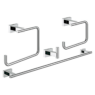 Grohe Essentials Cube Bad-Set 4in1 Variante 2 (4-tlg., Chrom, Glänzend)