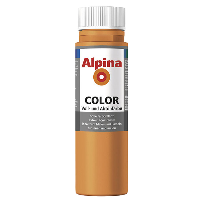 Alpina Voll- und Abtönfarbe Color (Fresh Orange, 250 ml)