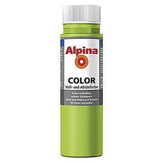 Alpina Vollton- & Abtönfarbe Color (Power Green, 250 ml)