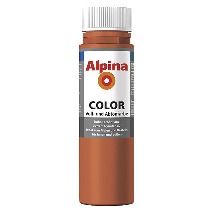 Alpina Voll- & Abtönfarbe Color (Italian Red, 250 ml)
