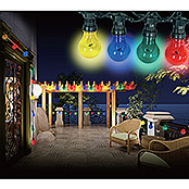 Globo LED-Party-Lichterkette Nirvana (10-flammig, 10 x 4,2 W, Länge: 450 cm)