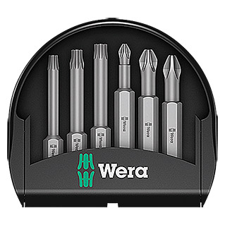 Wera Set de puntas Mini-Check (6 piezas)