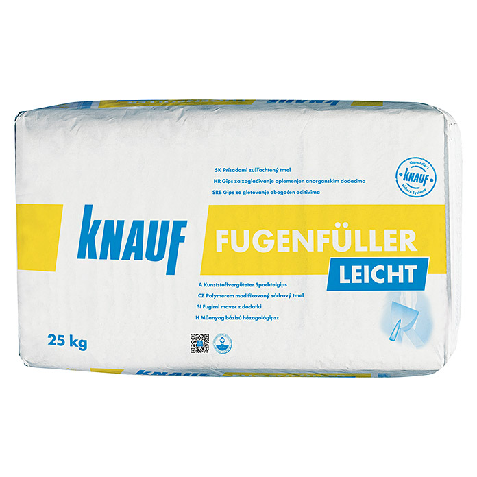 knauf fugenf ller leicht hellgrau 25 kg bauhaus sterreich. Black Bedroom Furniture Sets. Home Design Ideas