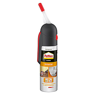 Pattex Silikon Universal (Transparent, 100 ml)