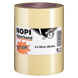 Nopi Malerband (50 m x 50 mm, 3 Stk.)