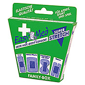 EasyMed Pflaster Familybox superstretch (16 Stk., Hochelastisch)