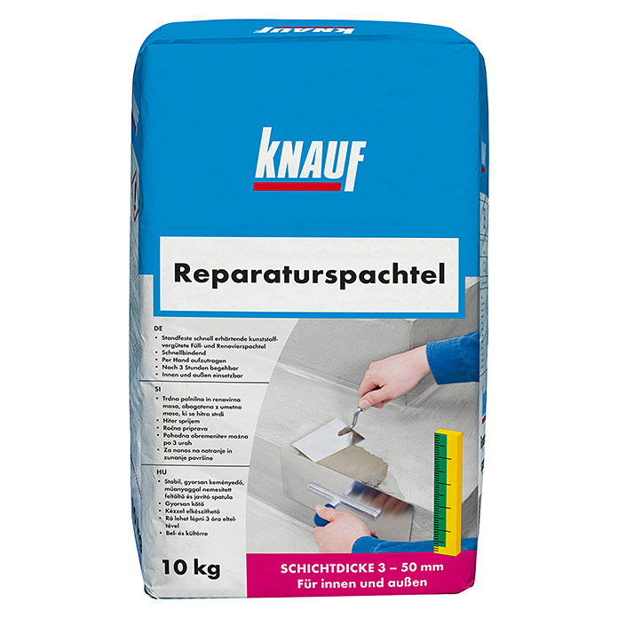 knauf reparaturspachtel 10 kg bauhaus sterreich. Black Bedroom Furniture Sets. Home Design Ideas