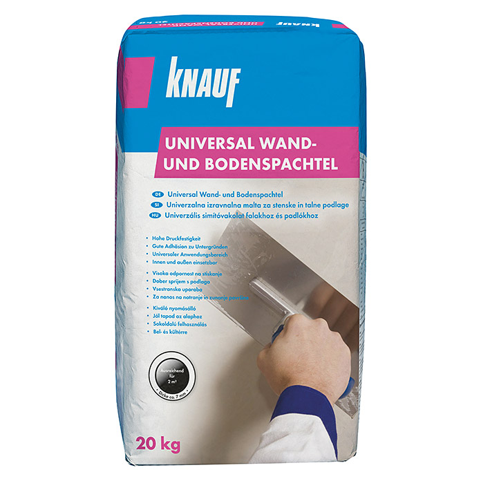 knauf wand bodenspachtel universal 20 kg bauhaus. Black Bedroom Furniture Sets. Home Design Ideas