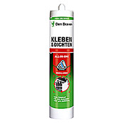 Den Braven Kleb- & Dichtmasse All in One (Weiß, 290 ml)