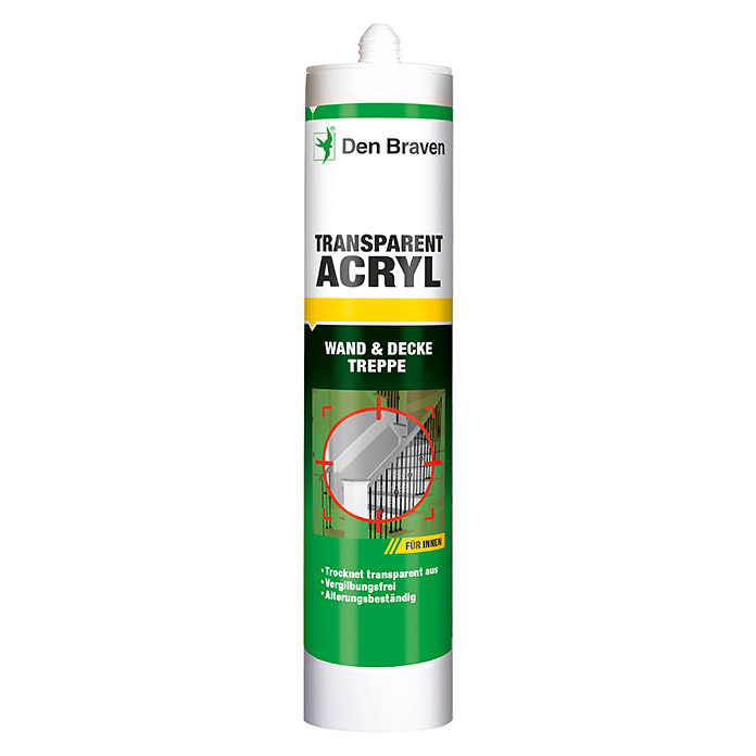 Den Braven Acryl (300 ml, Transparent)