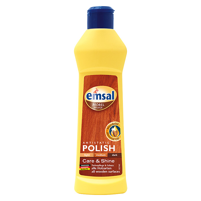 Emsal Möbelpolitur Antistatic Polish (Transparent, 250 ml)