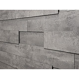 LOGOCLIC Paneele Wall Effect 3D Carrara (1.296 x 132 x 12 mm)