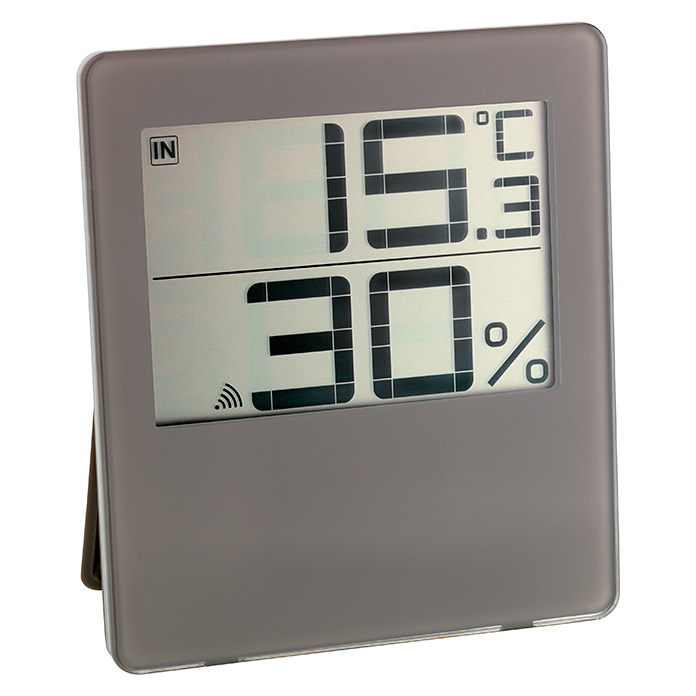 TFA Dostmann Funk-Thermo-Hygrometer Chilly (Digital, 19 x 111 mm, Reichweite Sensor: Max. 100 m)
