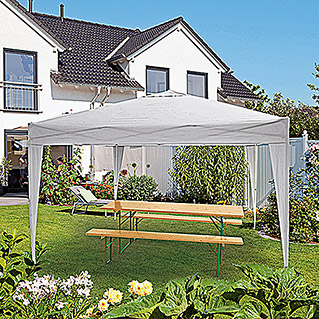 Sunfun Faltpavillon Easy Up (Beige, 3 x 3 m)