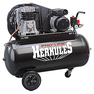 Herkules Kompressor Pro-Line B 2800 B/100 CT3 (10 bar, 2,2 kW/3 PS)