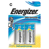 Energizer Batterie Advanced (Baby C, 2 Stk., 1,5 V)