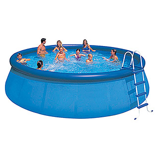Intex Easy-Pool-Set (Ø x H: 457 x 115,57 cm, 14.141 l, Blau)