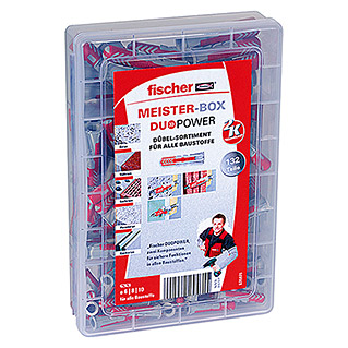 Fischer Meister-Box Dübel-Set Duopower (132-tlg.)