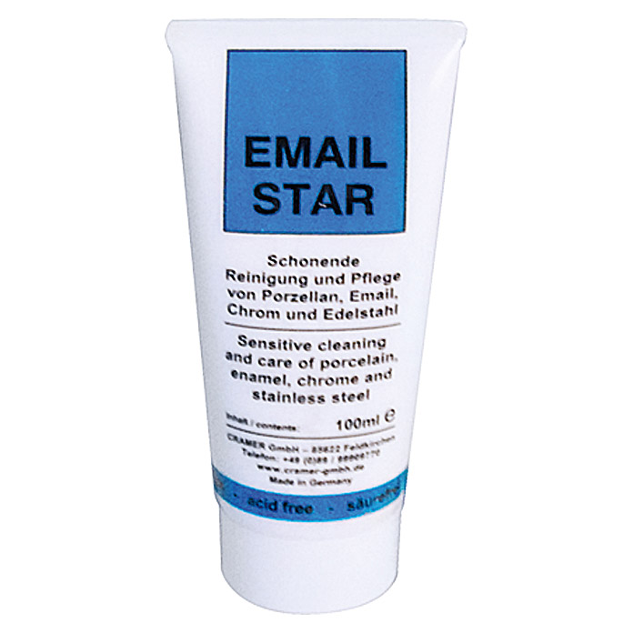 Politur- & Reinigungspaste Email-Star (100 ml)