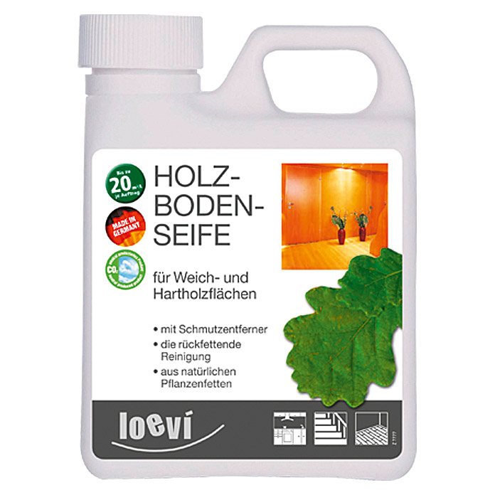 Loevi Holzbodenseife (1 l)