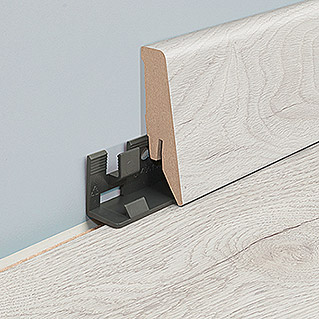 MyStyle Sockelleiste Lilywhite Oak/Misty Plains Oak (2,6 m x 18 mm x 58 mm, Gerade)