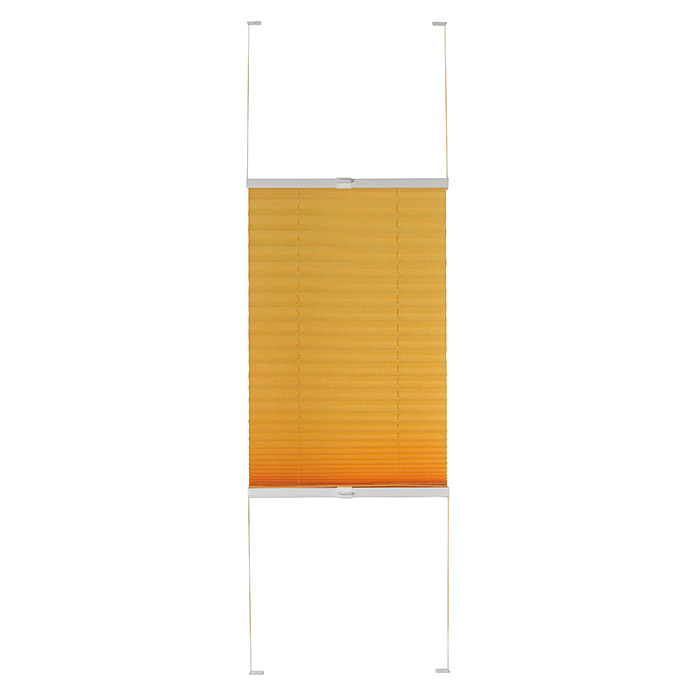 Expo Ambiente Plissee (B x H: 90 x 130 cm, Orange)
