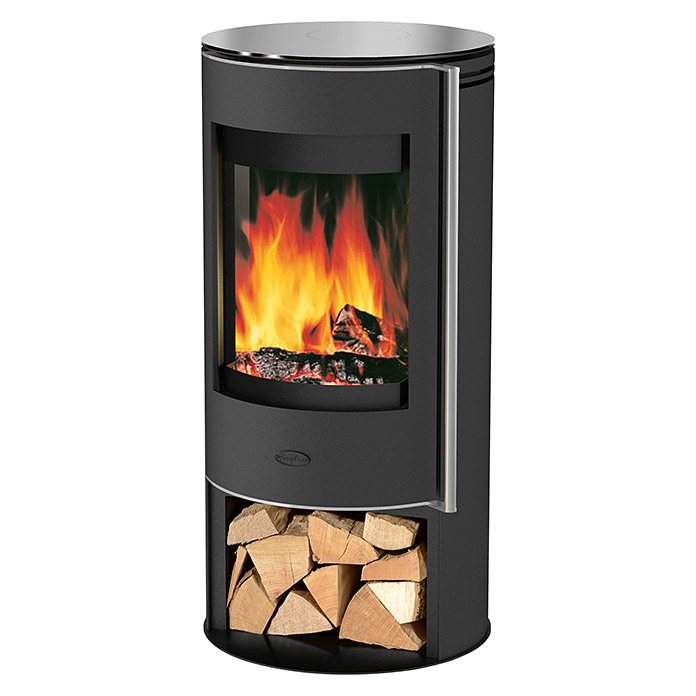 fireplace kaminofen verona 5 kw raumheizverm gen 90 m material abdeckung glas schwarz. Black Bedroom Furniture Sets. Home Design Ideas