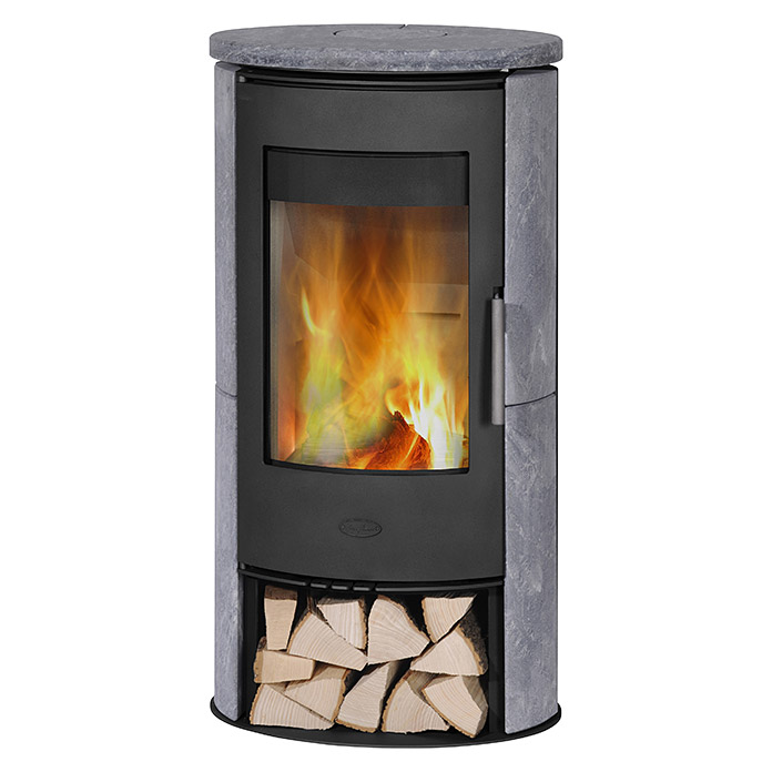 fireplace kaminofen monte carlo 5 kw raumheizverm gen 90 m verkleidung speckstein schwarz. Black Bedroom Furniture Sets. Home Design Ideas
