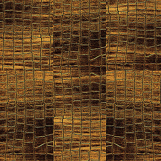 Handmuster Ledo Alligator Gold (280 x 160 x 10,5 mm, All over)