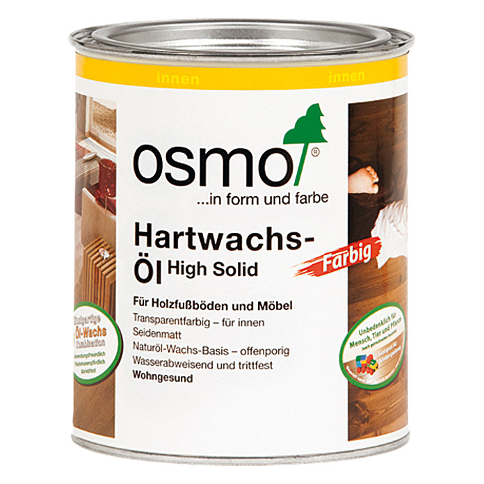 osmo high solid hartwachs l farbig honig 750 ml seidenmatt bauhaus. Black Bedroom Furniture Sets. Home Design Ideas