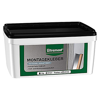 Ultrament Montagekleber Do it (1 kg, Lösemittelfrei)