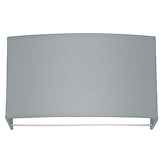 Wandleuchte Funk 31 Light Grey (1 Flammig, 25 W, Hellgrau, E14