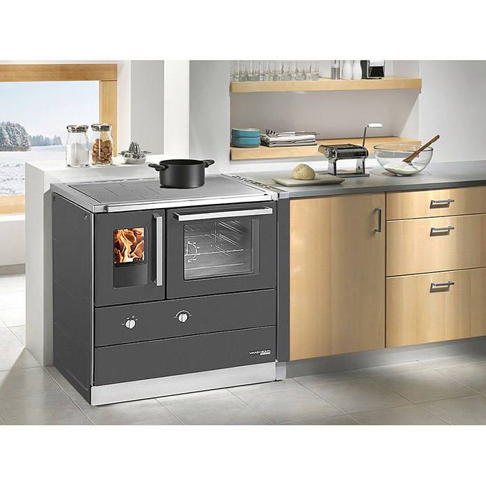 haas sohn k chenherd hsdz 75 5 al rao 7 5 kw raumheizverm gen 230 m backofen links. Black Bedroom Furniture Sets. Home Design Ideas