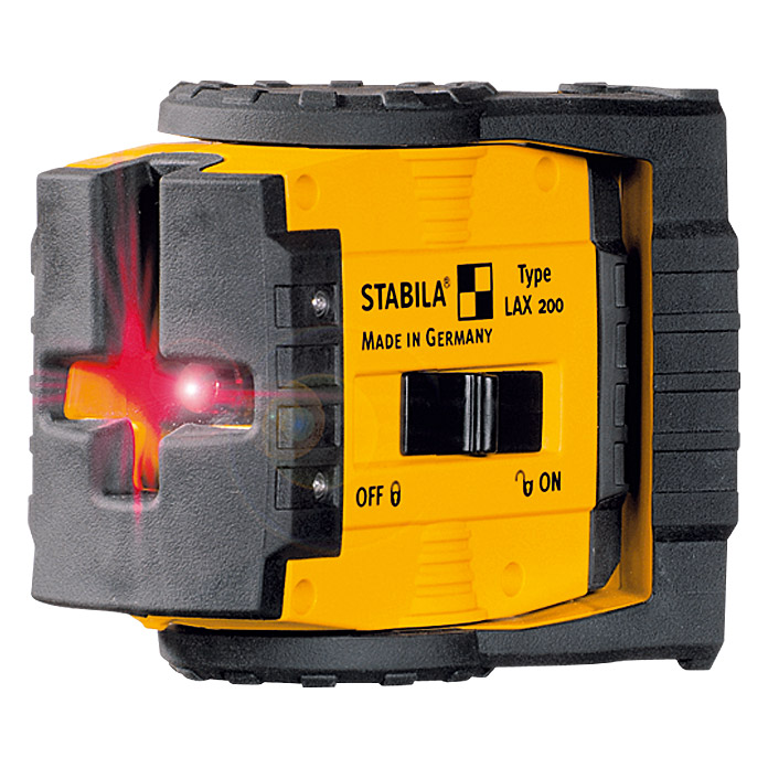 Stabila Kreuzlinienlaser LAX 200 Basis-Set