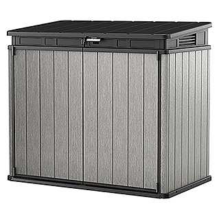 Keter Universalbox Store It Out Elite  (140 x 82 x 124 cm, Grau/Schwarz)