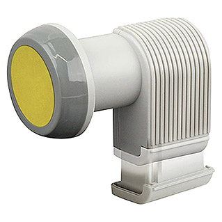 Schwaiger Single-LNB (0,2 dB, 40 mm, Hellgrau)