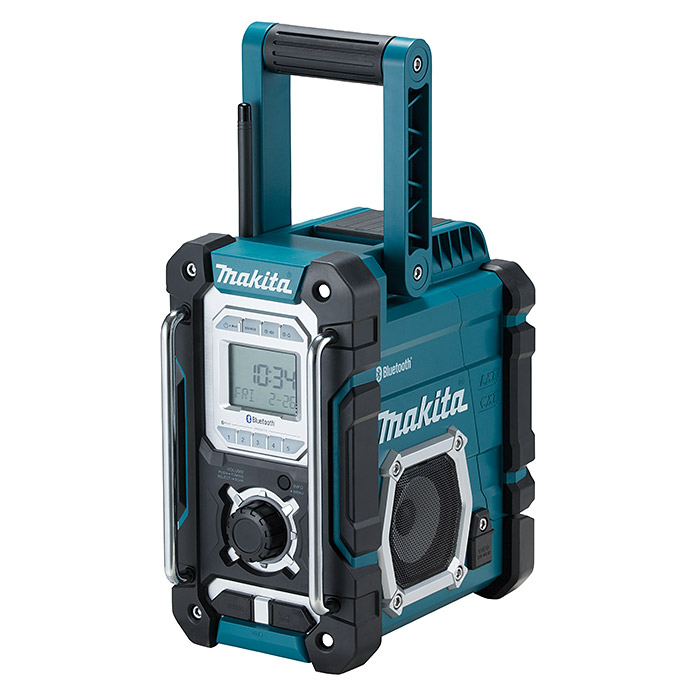 Makita Akku-Radio DMR108 (Frequenz: 520 - 1.629 kHz (MW), Bluetooth)