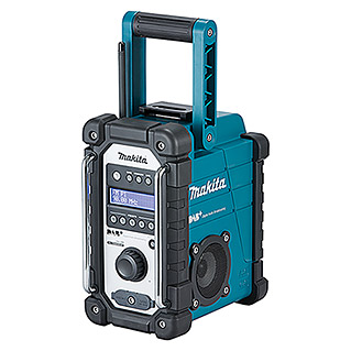 Makita Bouwradio DMR110 (Frequentie: 174.928 - 239.200 MHz (DAB/DAB+))