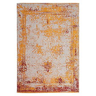Kayoom Teppich Select 275 (Orange, L x B: 290 x 200 cm, 50% Baumwolle, 50% Polyester Chenille)