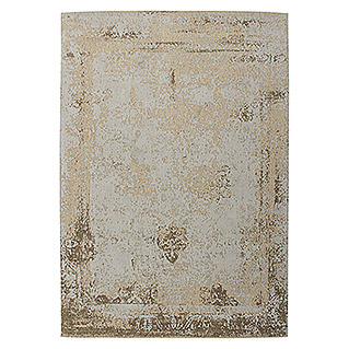 Kayoom Teppich Select 275 (Sand, L x B: 150 x 80 cm, 50% Baumwolle, 50% Polyester Chenille)