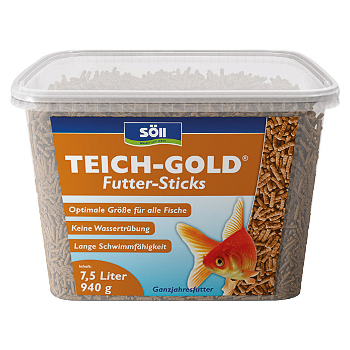 Söll Teich-Gold Futter-Sticks  (7,5 l)