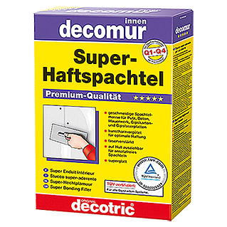 decotric Super-Haftspachtel decomur (2 kg)