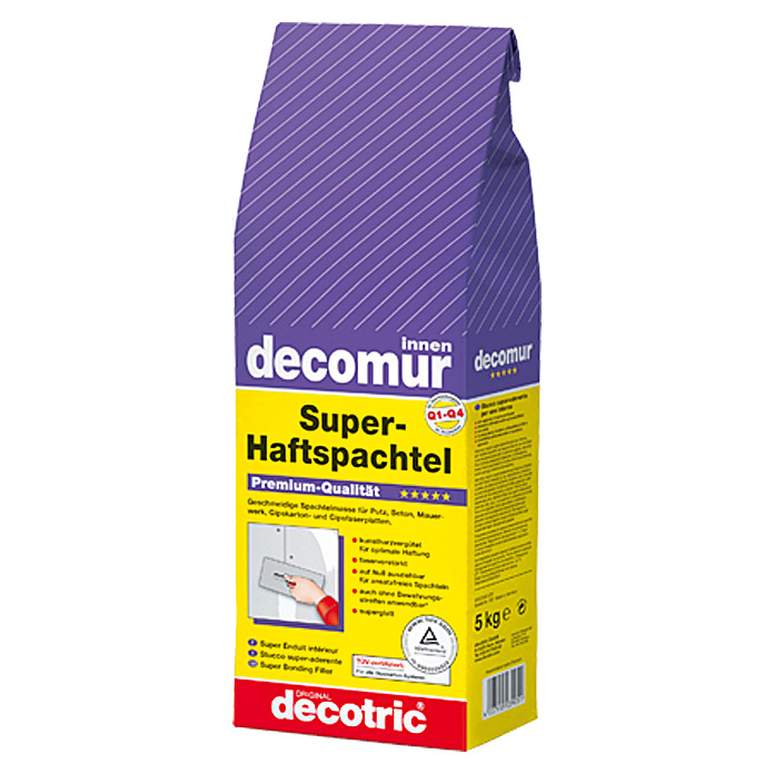 decotric Super-Haftspachtel decomur (5 kg)
