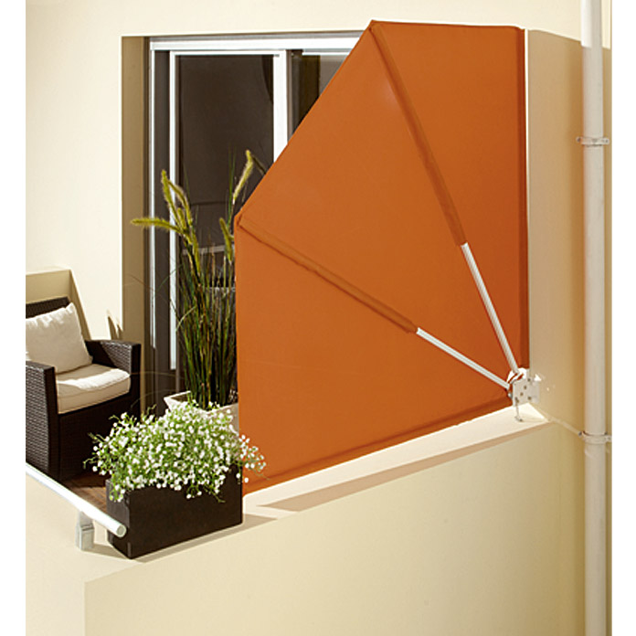 BALKONFAECHER       ORANGE 140X140cm    SUNFUN