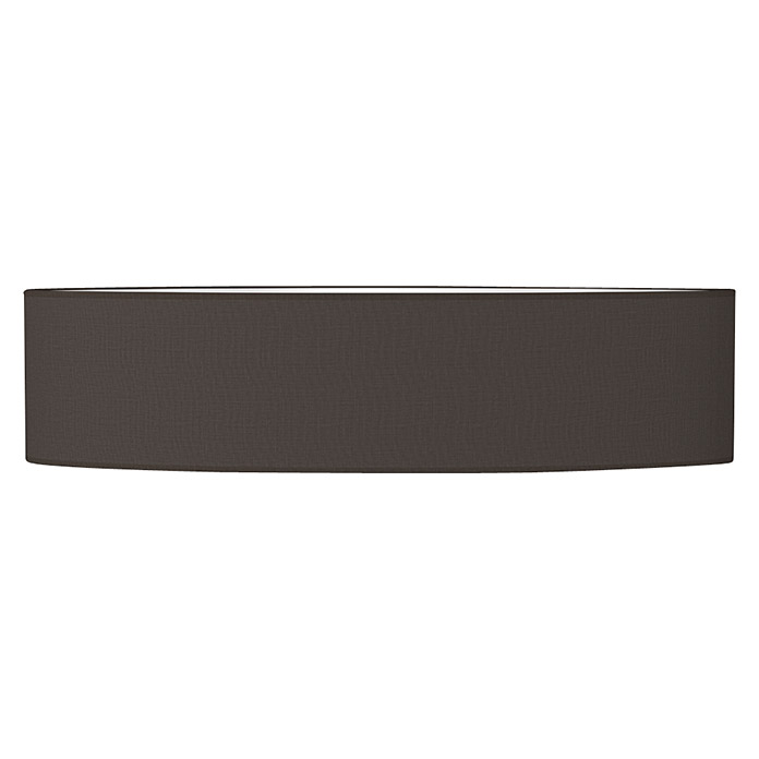 Home Sweet Home Lampenschirm Big Oval (Ø x H: 99 x 24 cm, Night Black, Baumwolle, Rund)