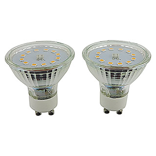 Voltolux Led-reflectorlamp (5 W, GU10, Warm wit, 2 stk.)