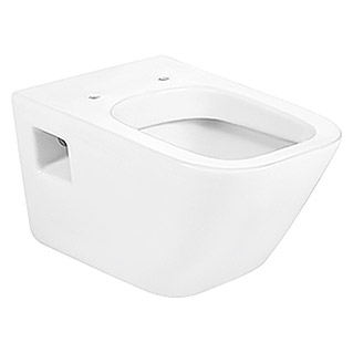 Roca The Gap Taza de WC suspendida (WC suspendido, Adosado, Blanco)