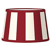 Home Sweet Home Lampenschirm Classic (Ø x H: 20 x 13 cm, Rot, Stoff, Rund)