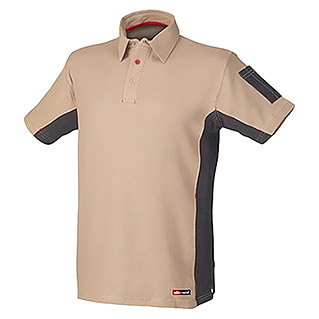 Industrial Starter Polo Stretch (L, Beige)